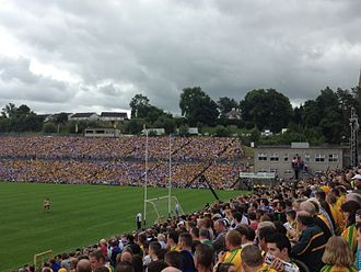 Clones, County Monaghan - The final of the Ulster Senior Football Championship is usually held in Clones.