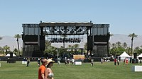 Coachella 2007 Main Stage.