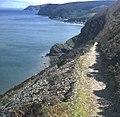 Coast path at Woody Bay - geograph.org.uk - 480424.jpg