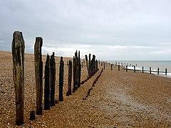 Coastal defences, Pett Level (geograph 3022310).jpg