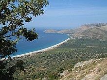 Cotes Saranda, Albanie