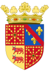 Coat of Arms of Henry IV of France as King of Navarre (1572-1589).svg