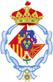 Coat of Infanta Elena of Spain, Duchess of Lugo.png