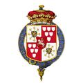 Coat of arms of Friedrich Hermann von Schönberg, 1st Duke of Schomberg, KG.png