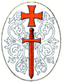 Coat of arms of the Livonian Brothers.png