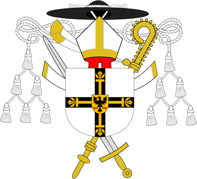 File:Coat of arms of the Teutonic Order.png