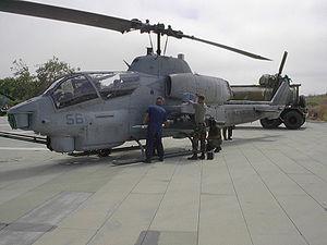 HMLA-369 - Image: Cobra arming