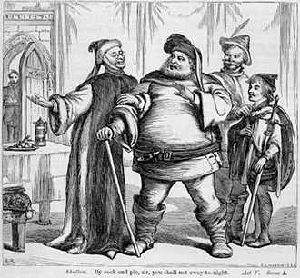 Robert Shallow - Justice Shallow tries to get Falstaff to stay for the night