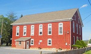 Fayette Township, Juniata County, Pennsylvania - Image: Cocolamus Mennonite Church Bunkertown PA