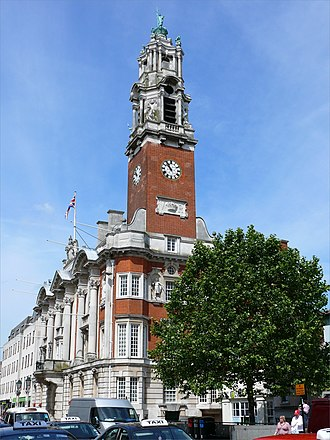 Colchester - Colchester Town Hall.