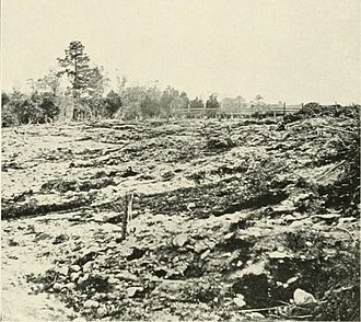 Battle of Cold Harbor - Earthworks photographed after the battle