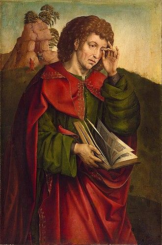 Colijn de Coter - Saint John the Evangelist Weeping