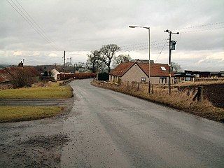 Collace village in United Kingdom