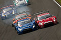 Collision between Calsonic Impul GT-R and Motul Autech GT-R 2012 Super GT Sugo.jpg