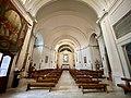 Colonna - chiesa di San Nicola di Bari - interno.jpg