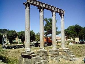Riez - Roman temple