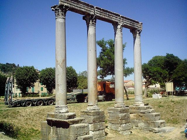 Храм Аполлона, Riez