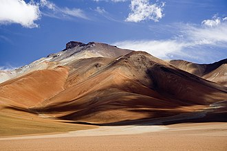 Geography of Bolivia - Colors of Altiplano Boliviano.
