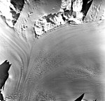 Columbia Glacier, Valley Glacier Convergence, November 8, 1977 (GLACIERS 1314).jpg