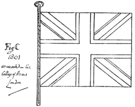 Fig. 777.—The Union Flag of 1801.