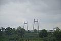 Concrete Cable Stayed Bridge - Across River Yamuna - NH 27 - Naini 2014-07-06 7263.JPG