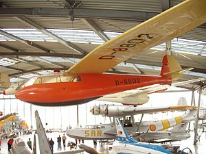 Deutsches Museum Flugwerft Schleissheim - Condor IV, Dornier Do 24 T-3 seaplane in background