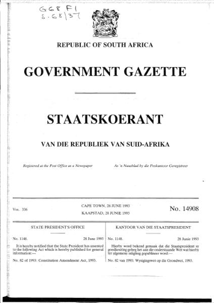 File:Constitution Amendment Act 1993.djvu