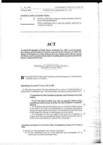 File:Constitution Amendment Act 1993.djvu