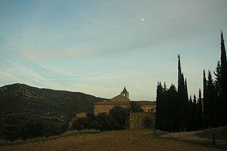 Tinença de Benifassà - Santa Maria de Benifassà monastery in the heart of the Tinença de Benifassà