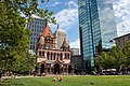 Copley Square with Trinity Church and Hancock Tower.jpg