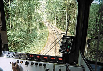 Corcovado Rack Railway - Engineer's view