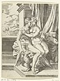 Cornelis Bos, after Michiel Coxie - Jupiter and Alcmene.jpg