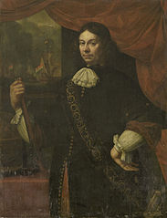 Portrait of Cornelis Jacobsz de Boer, Captain in the Navy
