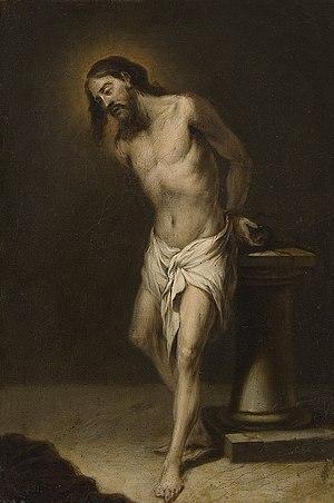 Cornelis Schut III - Christ Tied to a Pillar
