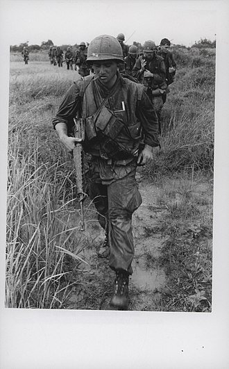 Operation Meade River - Image: Corporal Roland Tancrede Leads Marines, 1968 (15180856322)