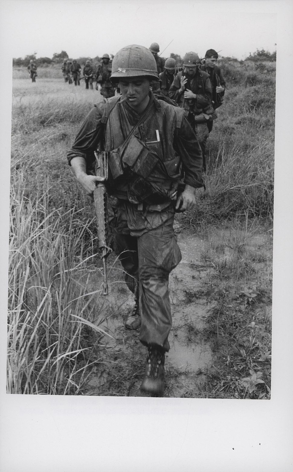 Corporal Roland Tancrede Leads Marines, 1968 (15180856322)