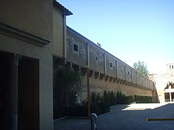 Llegada al Palacio Pitti.