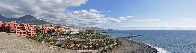 Vista de Costa Adeje en Tenerife