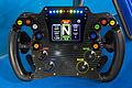 Cosworth Super Formula steering wheel 2015 Tokyo Auto Salon.jpg