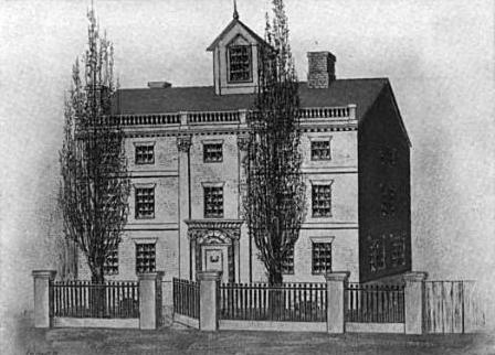 CottonMather house HanoverSt Boston