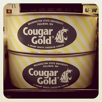 Cougar Gold cheese - Cougar Gold Cheddar Cheese