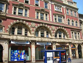 The Pitman Vegetarian Hotel - County Buildings (right hand half was the restaurant)