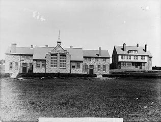 County school and school house, Llandysul (Cer)