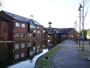 Coventry Canal basin - southern end of canal 19n06