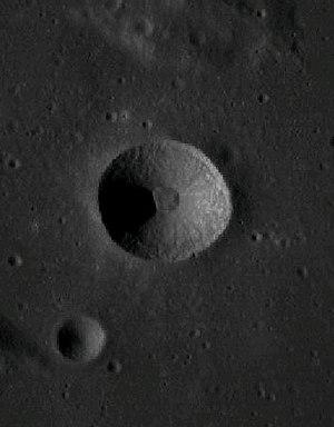 Cajal (crater) - Image: Cráter Cajal
