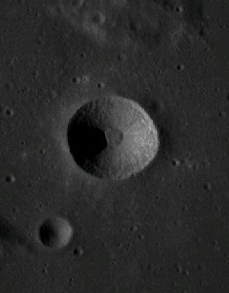 Cajal (crater) - LRO image