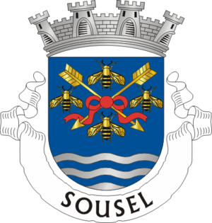 Sousel - Image: Crest of Sousel municipality (Portugal)