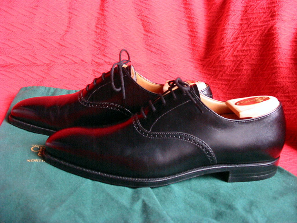 Calf Leather Shoes Mens