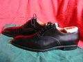 Crockett & Jones men's dress shoes, type Dalton, black calf leather 03.JPG