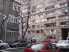 Crossroad of Vardanants Street and Tpagrichner Street, Yerevan.JPG